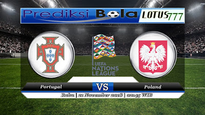Prediksi pertandingan Portugal vs Poland 21 November 2018