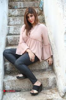 Telugu Actress Aditi Singh Stills in Leather Pants at Nenu Kidnap Iyanu Movie Press Meet  0220.JPG