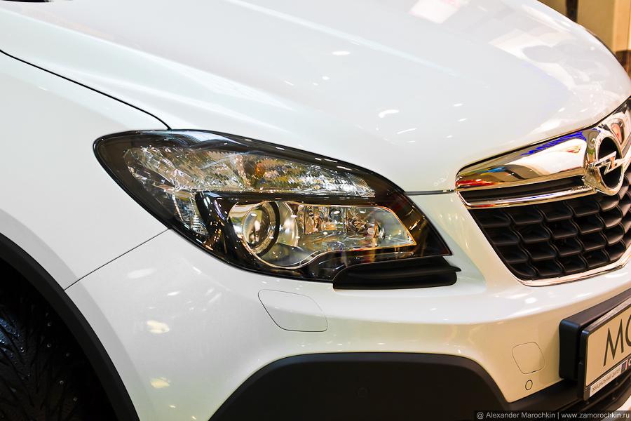 Оптика Opel Mokka, фара