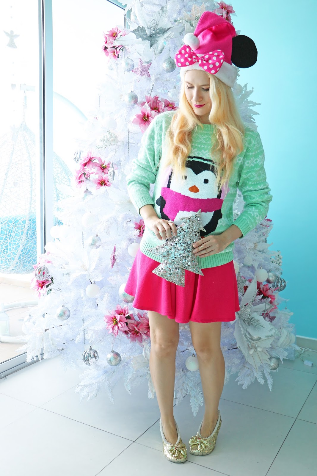 Cute outfit for Christmas day