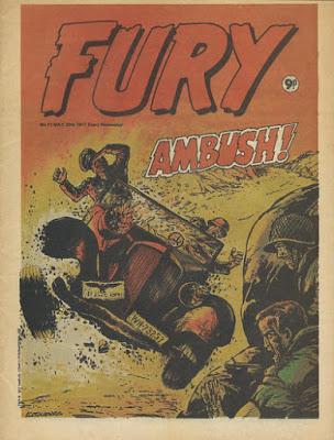 Marvel UK, Fury #11