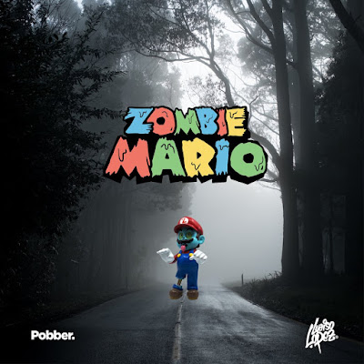 Zombie Mario Standard Edition Resin Figure by Luaiso Lopez x Pobber
