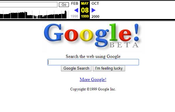 google em 1999