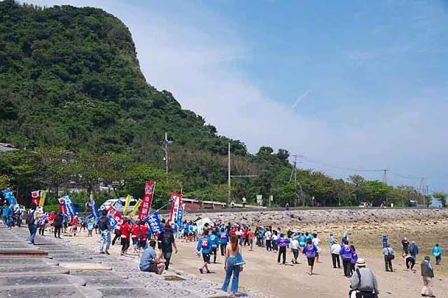 festival, Henza Island, Diamond Head,Okinawa, Sanguacha