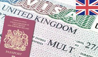 对尼日利亚人的英国签证要求