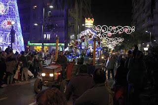 Horario e Itinerario de la Cabalgata de los Reyes Magos de Motril (Granada) 2019