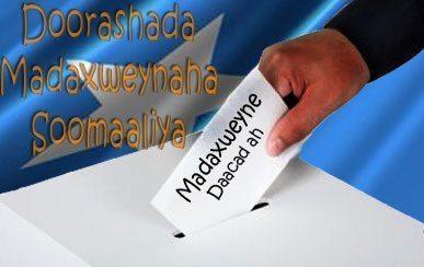 Waa kuma musharaxa kaliya ee ololihiisa doorasho ka wada Waqooyiga Muqdisho iyo guri?