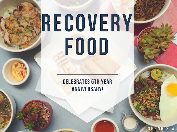 Recovery Food Celebrates 5th Year Anniversary!