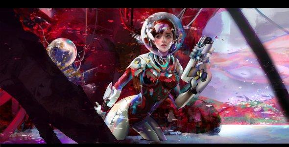 Amber Ye artstation arte ilustrações mulheres beleza fantasia ficção games