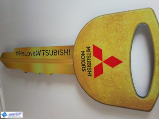 Laser-Cut Acrylic with Vinyl Sticker - Mitsubishi Philippines