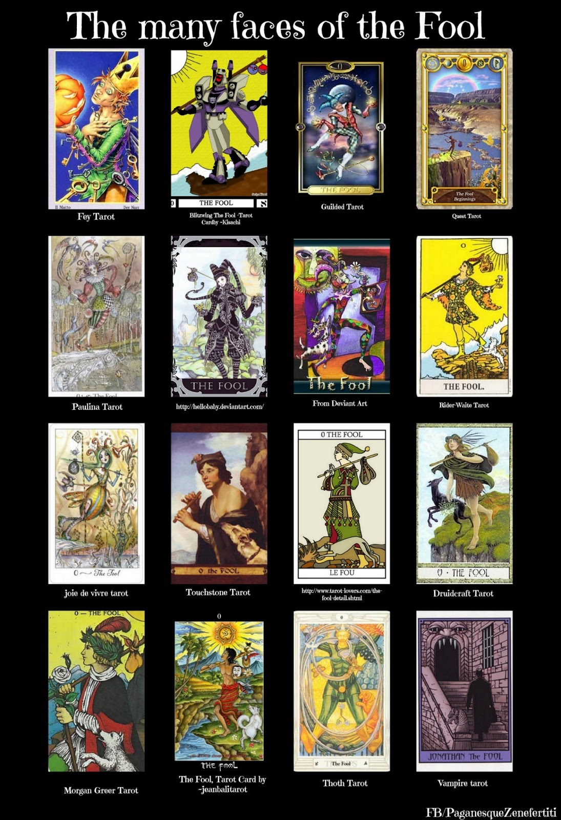 Fool From The Universal Waite Tarot: Tarot Cards