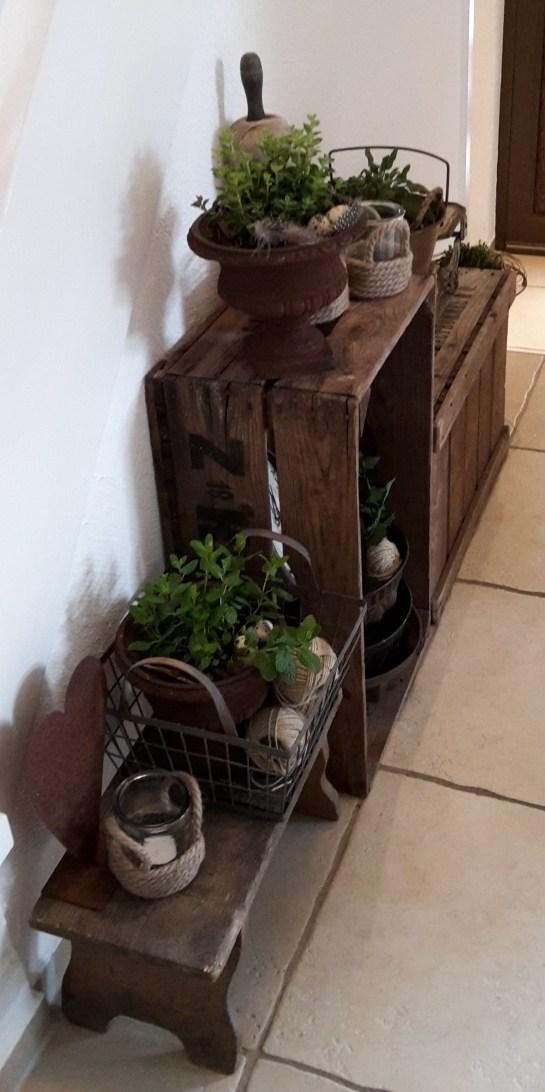 shabby house and garden mein kleiner kr utergarten. Black Bedroom Furniture Sets. Home Design Ideas