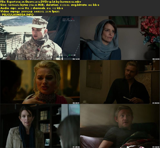 Descargar Whiskey Tango Foxtrot Latino por MEGA.