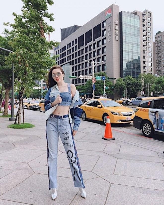 Sao Việt khoe street style phóng khoáng, phối đồ tôn chân dài miên man -11