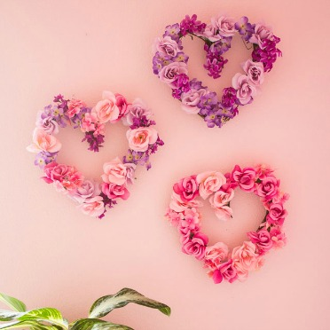 Make these from dollar store flowers!
