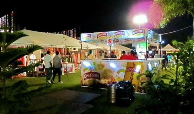Bangalore Food Fete: Beer Stalls