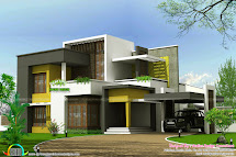Kerala Home Design Box Type