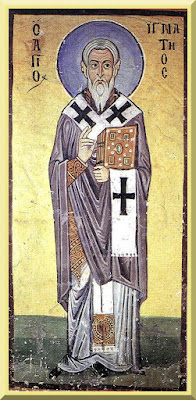 Saint Ignatius of Antioch Icon- PD-1923