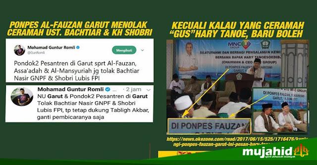 Syuut! Ponpes yang Menolak Ustadz Bachtiar Nasir Ternyata yang Menerima KH. Harie Tanoe