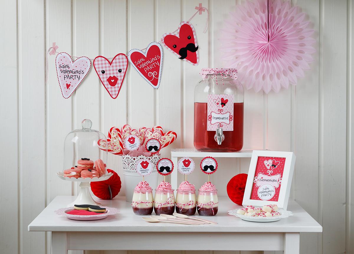 Miss bredela celebrando san valent n - San valentin decoracion ...
