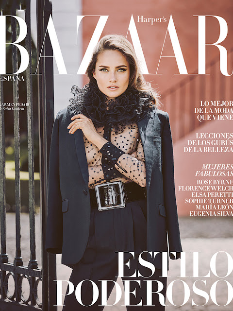 Fashion Model, @ Karmen Pedaru by Guy Aroch for Harper's Bazaar Spain August 2016