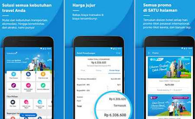 aplikasi booking pesawat traveloka