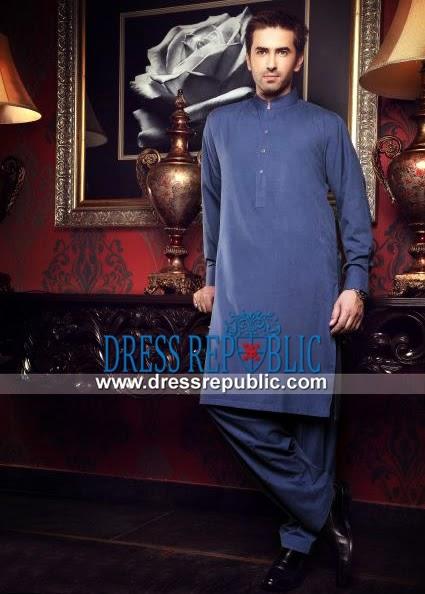 e0435e0845 Junaid Jamshed Men's Shalwar Kameez 2014 Collection   DressRepublic.com