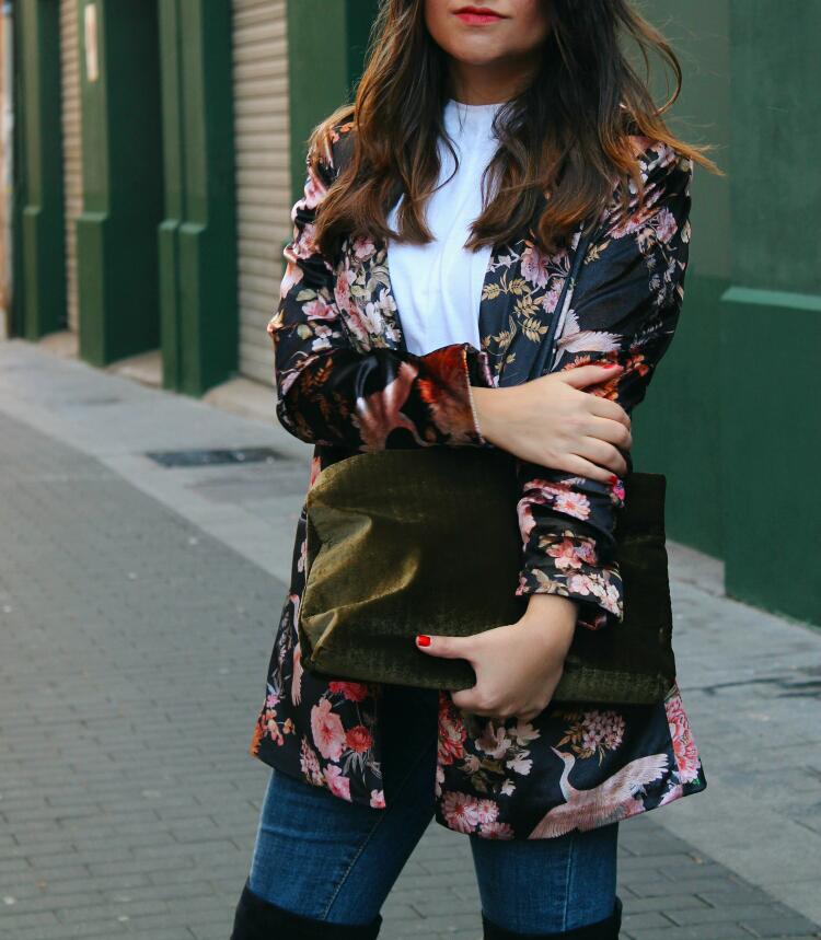 americana de terciopelo blog de moda