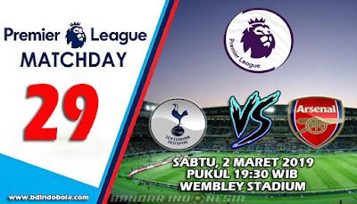 Prediksi Bola Tottenham Hotspur vs Arsenal 2 Maret 2019