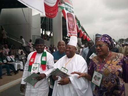 Photos From Senator Adeleke's Campaign In Osun With Davido