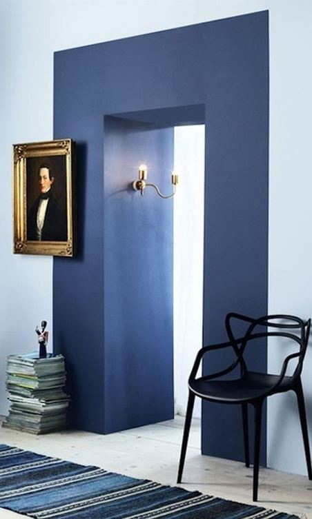 blue home decor inspiration