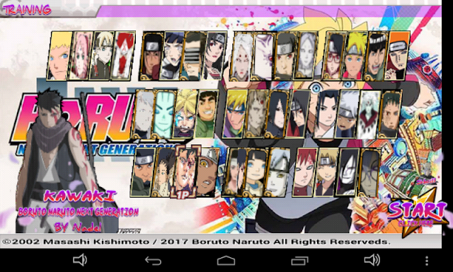 Naruto Senki Boruto MOD Unlimited Money Coin Full Character Version Apk Terbaru