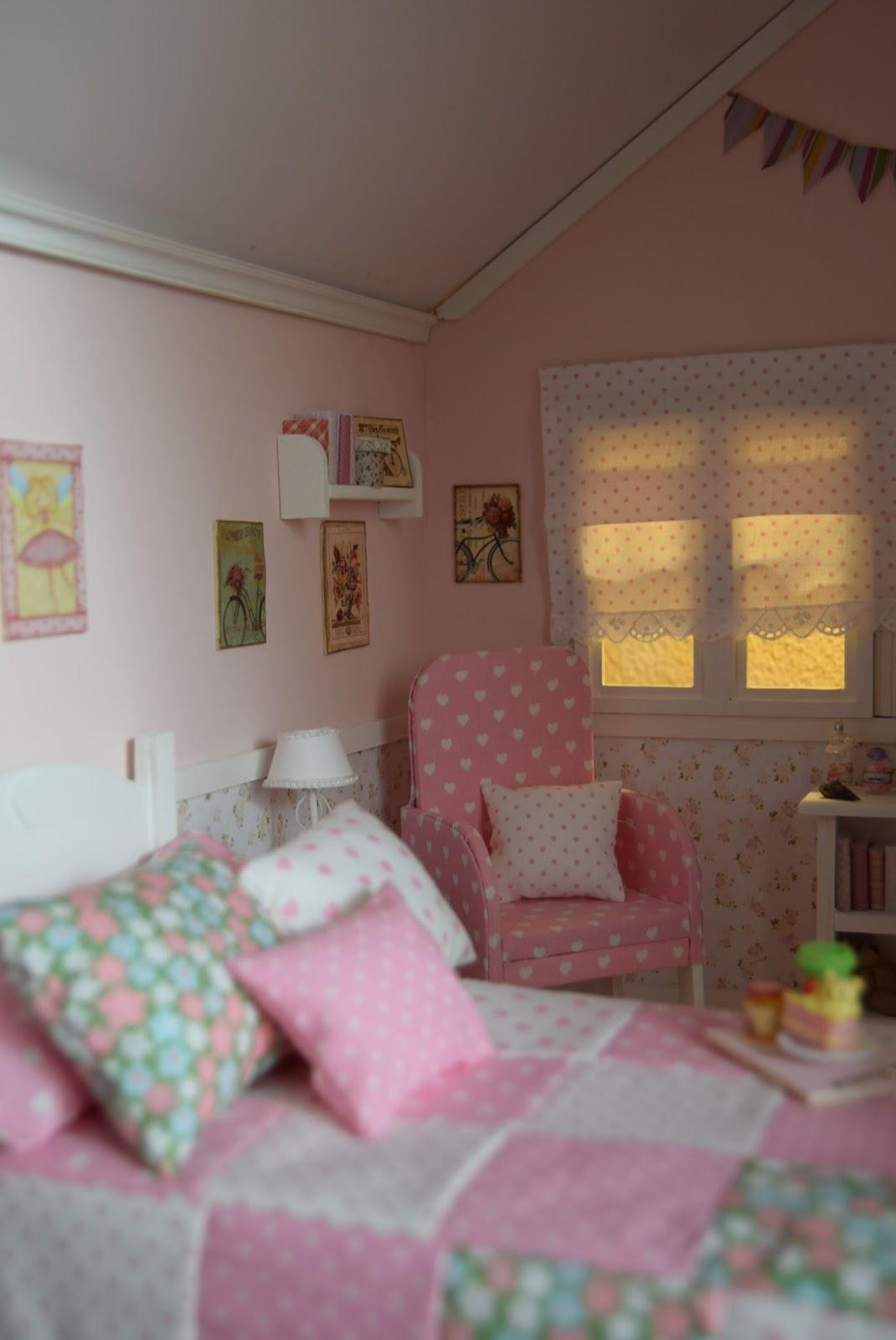 Muebles y complementos en escala 1 6 casita acacaba - Muebles y complementos ...