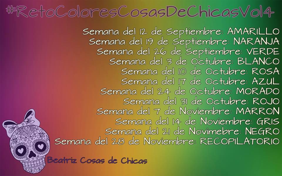 Claudia Olivo Nails: Manicura No.96 Reto Colores Cosas de Chicas ...