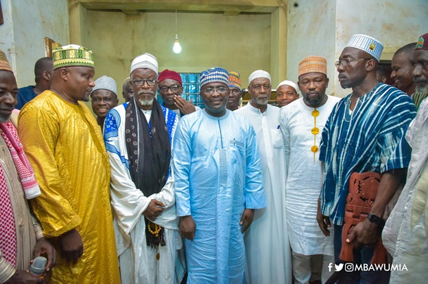 This Has Not Happened In Over 100 Yrs – Municipal Chief Imam, As VP Bawumia Visits Konongo Zongo