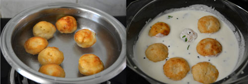 how to make thayir vada