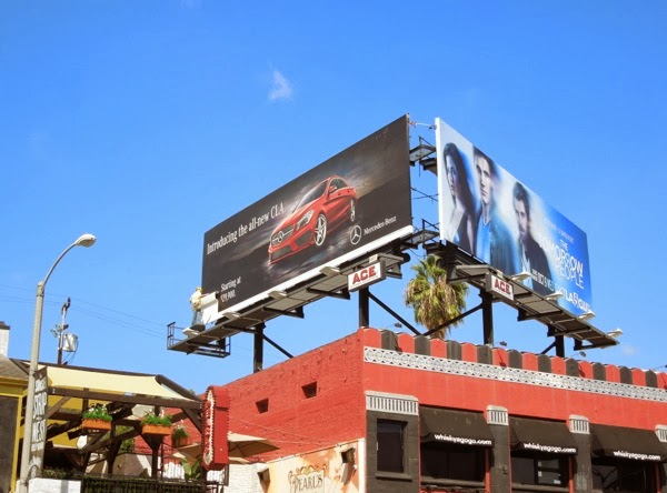 Mercedes-Benz All new CLA mannequin billboard
