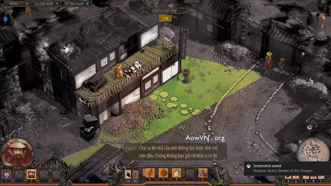 AowVN.org minz%2B%252811%2529 - [ PC 64Bit ] Shadow Tactics: Blades of the Shogun Việt Hoá | Siêu Phẩm Game tuyệt hay