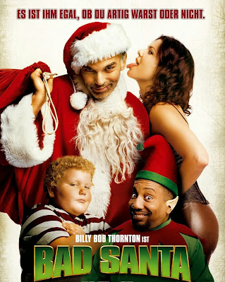 Poster Of Bad Santa (2003) In Hindi English Dual Audio 300MB Compressed Small Size Pc Movie Free Download Only At worldfree4u.com