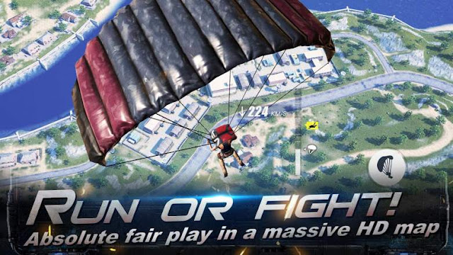 Jenis Amunisi dan Barang di Rules Of Survival