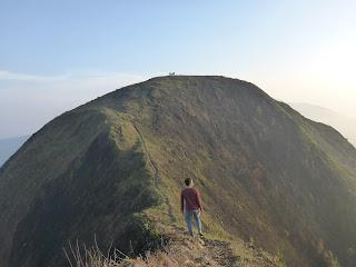 Jalur puncak pendakian gunung Andong Magelang Jawa Tengah