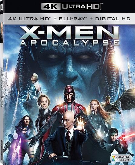 X-Men: Apocalypse 4K (X-Men: Apocalipsis 4K) (2016) 2160p 4K UltraHD HDR BluRay REMUX 47GB mkv Dual Audio Dolby TrueHD ATMOS 7.1 ch
