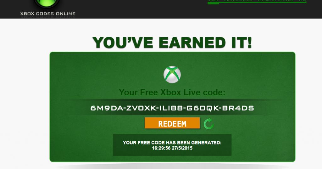 Live 2019 codes xbox free Free Xbox