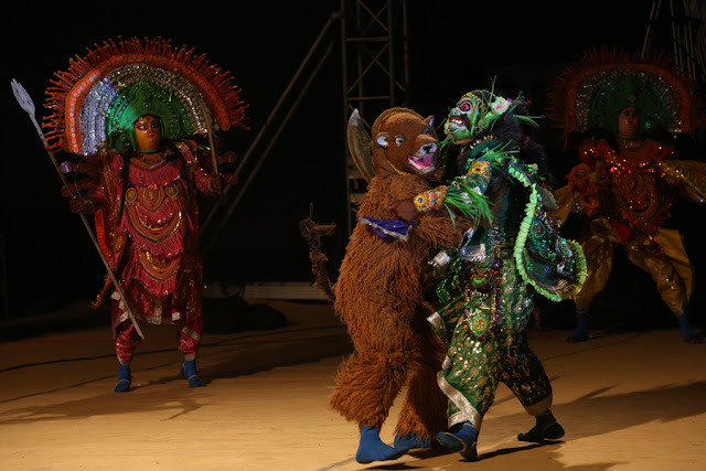 Chau Dance at Festival