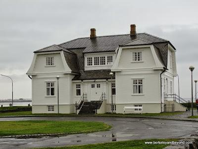 exterior of Höfði House in Reykjavik, Iceland