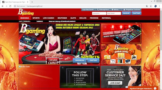 Daftar Situs Agen Bola Terpercaya BANDARGAMING Bandar Bola Online Indonesia