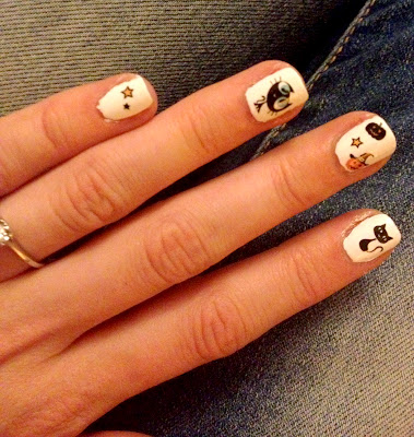 Halloween Nail Water Decals from Sparkly-Nails