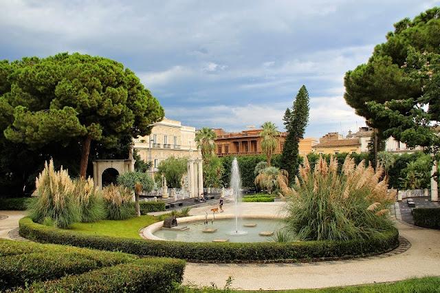 Jardim Bellini em Catania