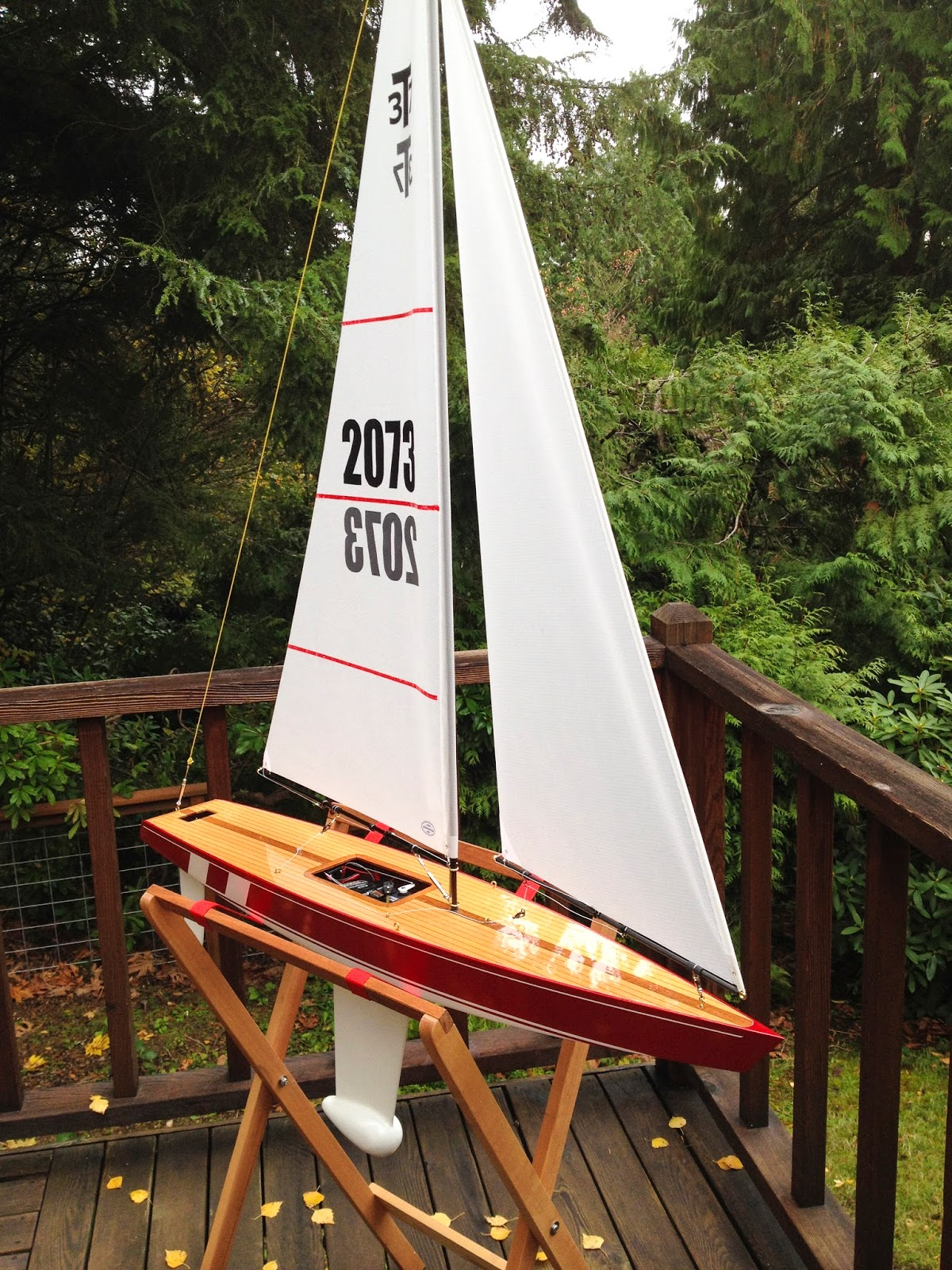 T37 RC Sailboat Blog