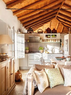 Restored rustic house in Spain/lulu klein